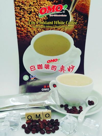 P061-OMO IPOH WHITE COFFEE 安虫磔隠易色携 40g x 20 sac