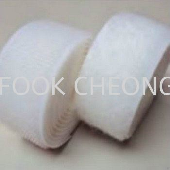 Hook & Loop Fastener Tape (990 White) B2B Supplier, Distributor, Supply, Supplies  ~ Fook Cheong Trading Sdn Bhd