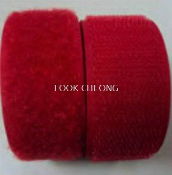 Hook & Loop Fastener Tape (158 Bright Red)