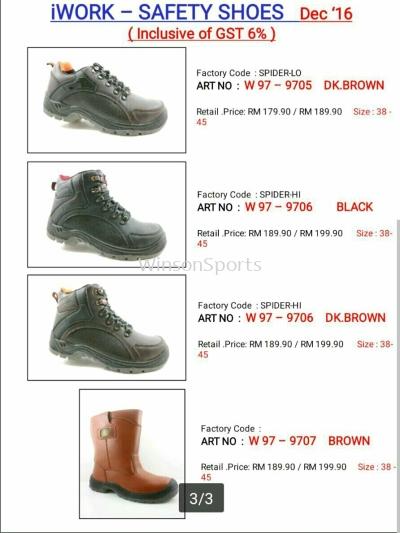 I Work Safety Shoe