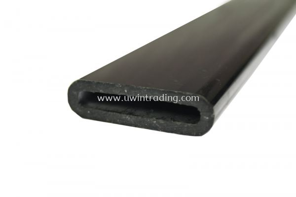 PVC Tie Sleeve (Oval) - Black
