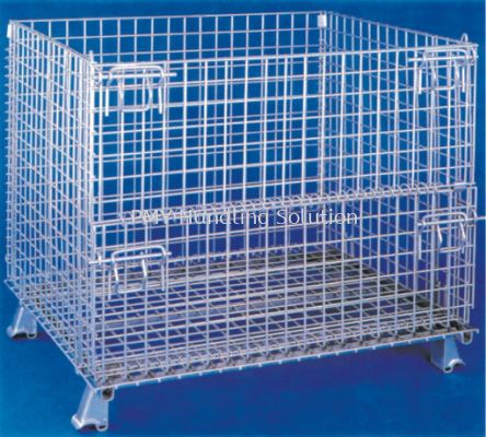 Wire Mesh Pallet Cage