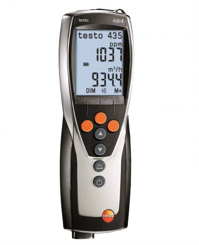 Testo 435-3 - Multi-function climate measuring instrument