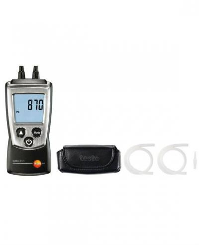 Testo 510 set - differential pressure measuring instrument