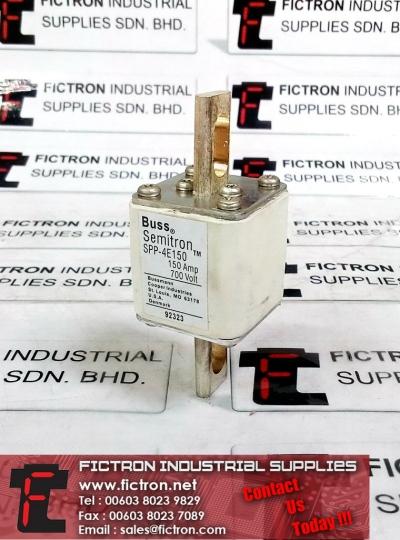 SPP-4E150 150A 700V BUSS BUSSMAN COOPER SEMITRON Square Body Fuse Supply Malaysia Singapore Thailand Indonesia Europe & USA