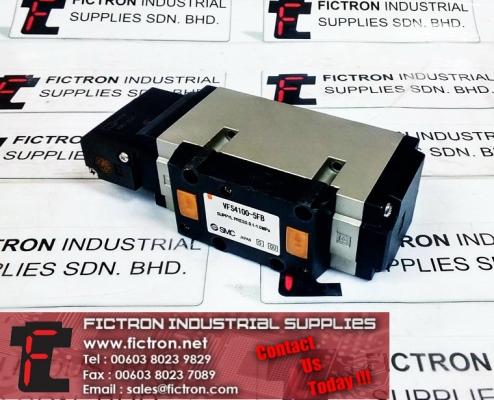 VFS4100-5FB SMC sgl plug-in base mount VFS4000 SOL Valve 4/5 Port Supply Malaysia Singapore Thailand Indonesia Europe & USA