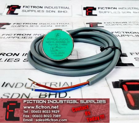 NBB10-30GM40-ZO 114846 PEPPERL+FUCHS Inductive Sensor U=10-30VDC I=200mA Supply Malaysia Singapore Thailand Indonesia Europe & USA