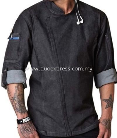 Denim Chef Coat 002