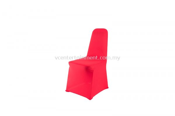 Red Spandex Banquet Chair Cover