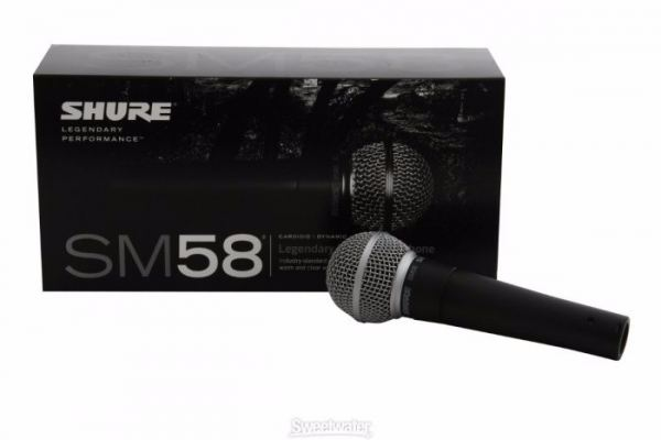Shure SM58 Vocal Wired-Microphone
