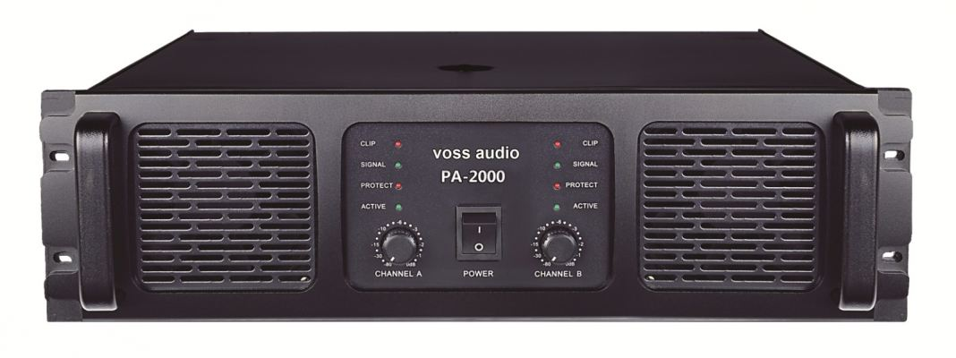 VOSS Audio PA-2400 Power Amplifier