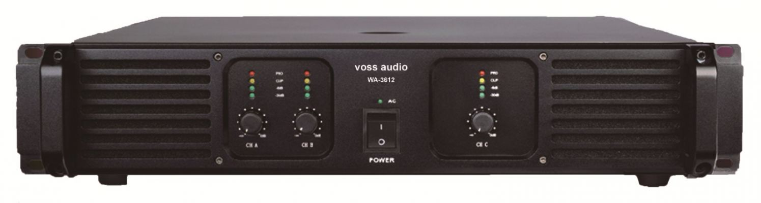 VOSS Audio WA-3600 Power Amplifier