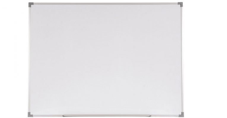Magnetic Whiteboard with Aluminium Frame