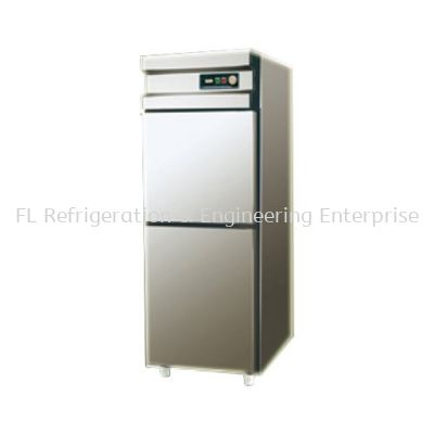 STAINLESS STEEL 2 DOOR UPRIGHT CHILLER