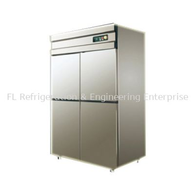 STAINLESS STEEL 4 DOOR UPRIGHT CHILLER