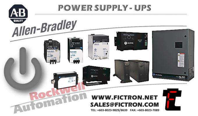 SK-Y1-DCPS1-D1K3 SKY1DCPS1D1K3 FAN DC PWR SUPPLY 400/480V PF700AFE F13 AB - Allen Bradley Power Supply - Rockwell Automation �C PSU Supply Malaysia Singapore Thailand Indonesia Philippines Vietnam Europe & USA