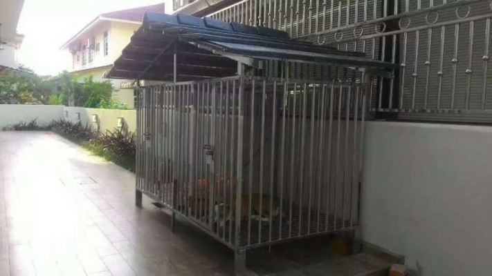 Stainless Steel Dog��s House