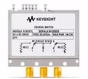 N1810TL Coaxial Switch, DC up to 67 GHz, SPDT  RF and Microwave Electromechanical Switches  Keysight Technologies
