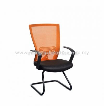 BEVERLY VISITOR MESH CHAIR WITH EPOXY CANTILEVER BASE ABV-A3