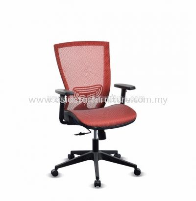 BEVERLY FULL MESH MEDIUM BACK CHAIR WITH NYLON BASE ABV-C2