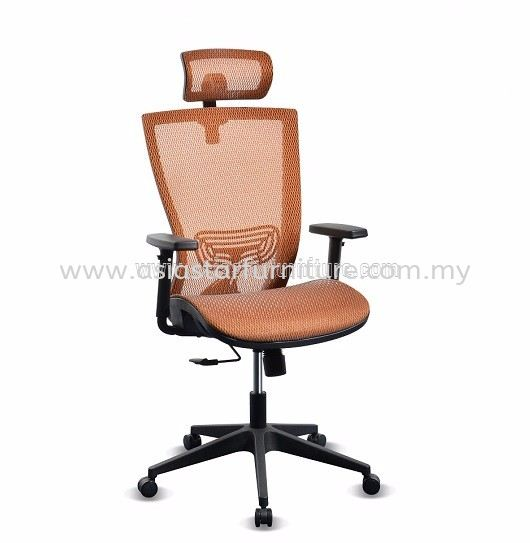 BEVERLY FULL MESH HIGH BACK CHAIR WITH NYLON BASE ABV-C1