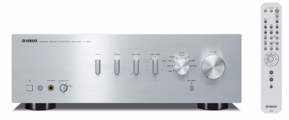 Yamaha A-S501 Natural Sound Integrated Amplifier