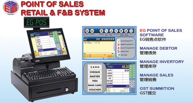 Point of Sales Retail & F&B System