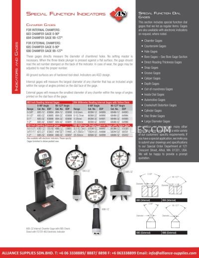STARRETT Special Function Indicators