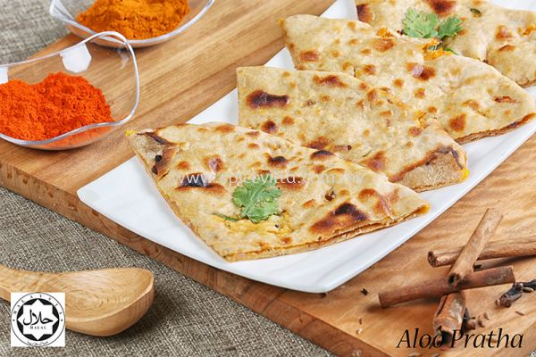 Aloo Pratha (Potato Stuffed)