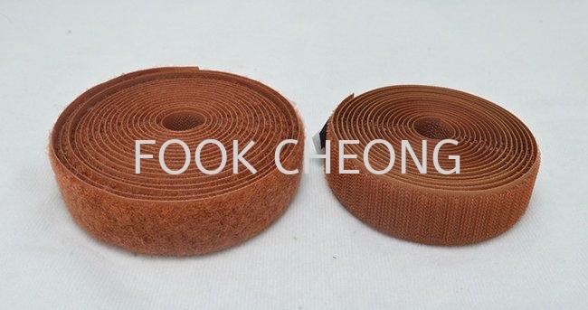 Hook & Loop Fastener Tape (110 Brown) B2B Supplier, Distributor, Supply, Supplies  ~ Fook Cheong Trading Sdn Bhd