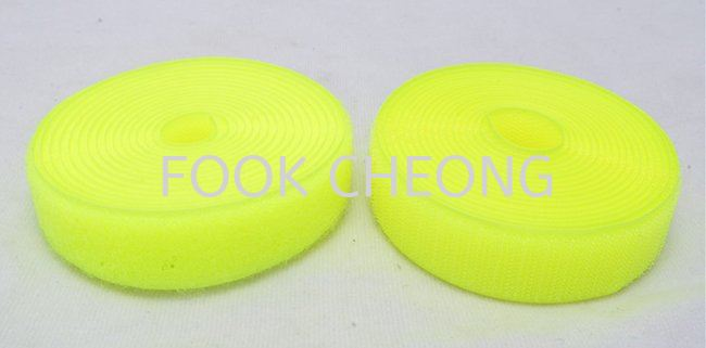 Hook & Loop Fastener Tape (053 Luminous Yellow) B2B Supplier, Distributor, Supply, Supplies  ~ Fook Cheong Trading Sdn Bhd