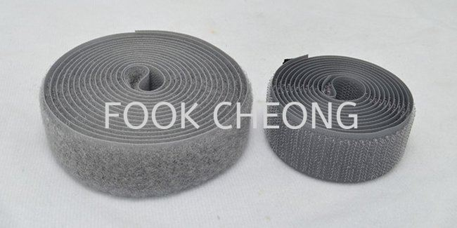 Hook & Loop Fastener Tape (070 Gray) B2B Supplier, Distributor, Supply, Supplies  ~ Fook Cheong Trading Sdn Bhd