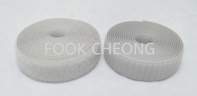 Hook & Loop Fastener Tape (020 Silver Gray) B2B Supplier, Distributor, Supply, Supplies  ~ Fook Cheong Trading Sdn Bhd