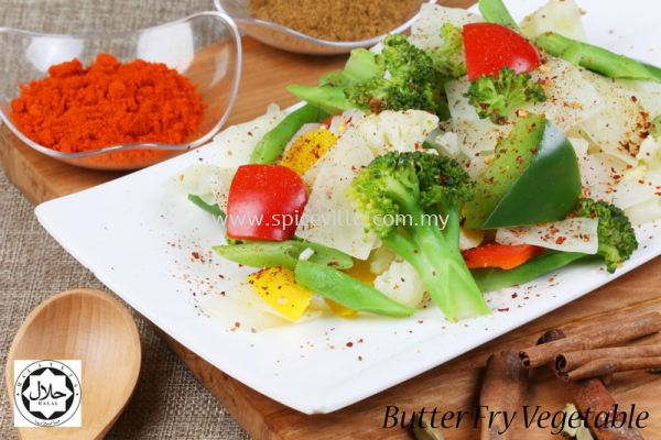 Butter Fry Vegetable