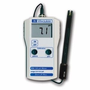 MW100 Standard Portable pH Meter pH Meter  Milwaukee