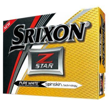 Srixon Z-Star Optic White Golf Balls