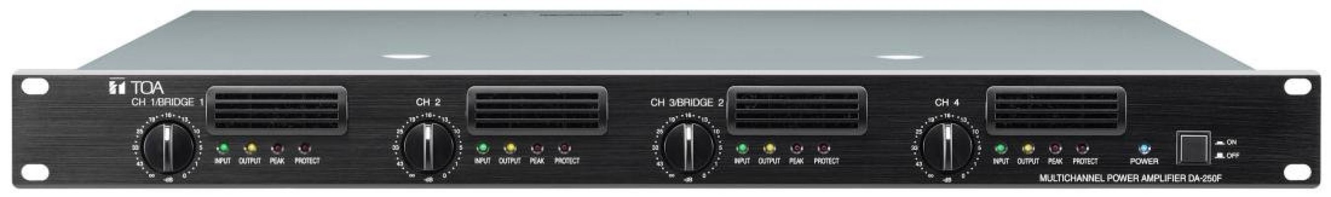 DA-250F.Multichannel Power Amplifier