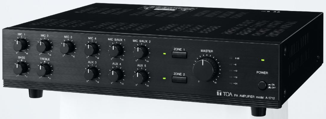 A-1712.Mixer Power Amplifier (AS version)
