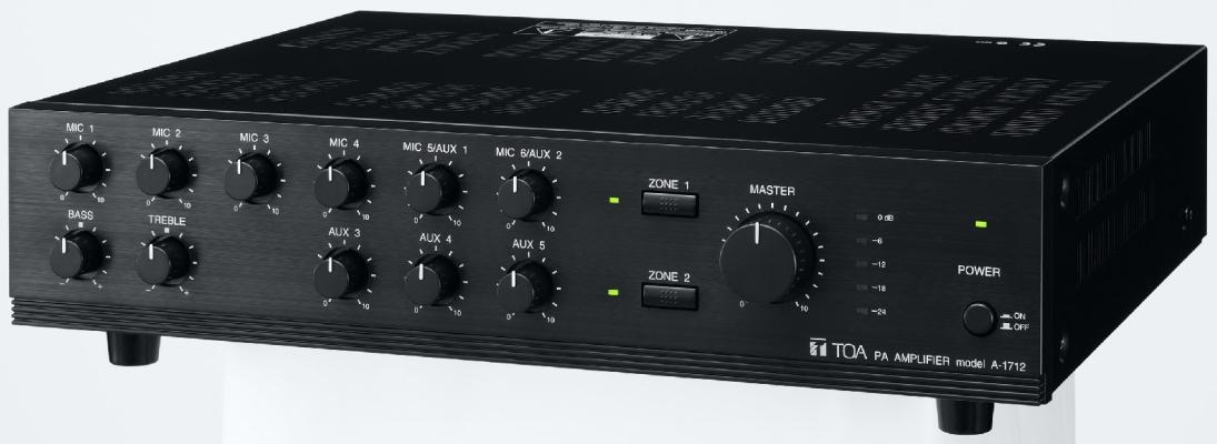 A-1712.Mixer Power Amplifier (AS version)