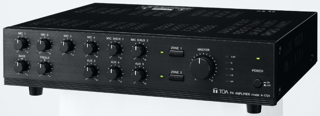 A-1724.Mixer Power Amplifier (AS version)