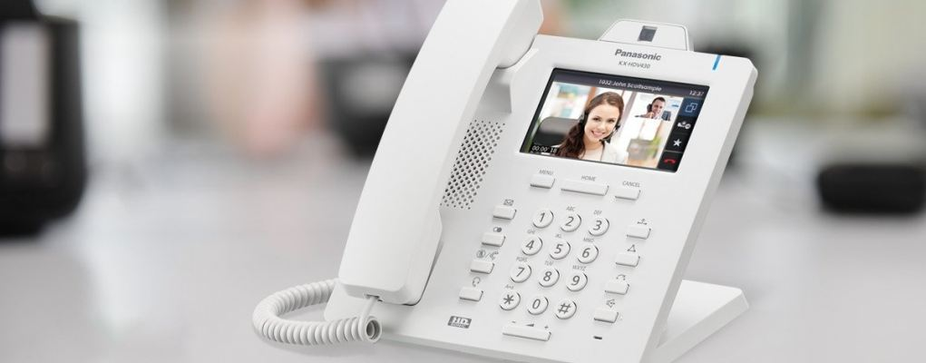 KX-HDV430 Executive HD IP Video Collaboration Desktop Phone