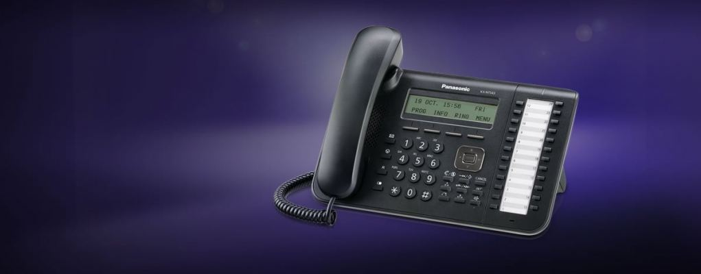 KX-NT543.Standard IP Phone, 3 lines display