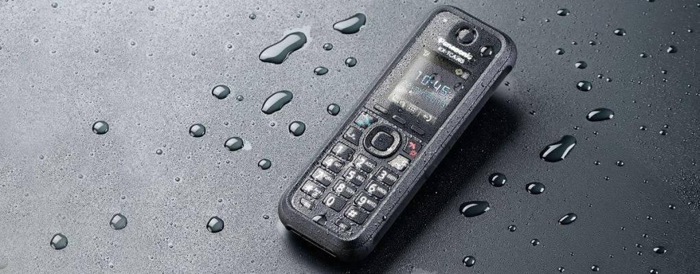 KX-TCA385.Tough and durable DECT handset for every environment