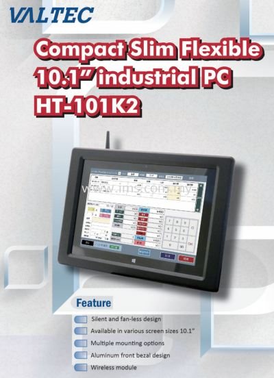 Industrial Grade Panel PC with Wifi / Windows 10