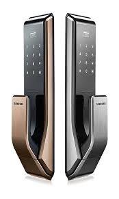 SHS-P717.World 1st PUSH PULL door lock concept