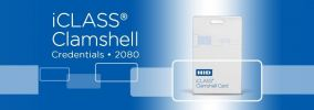 2080 iCLASS Clamshell Card ACCESSORIES ENTRYPASS DOOR ACCESS SYSTEM