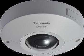 WV-SFV481.Outdoor 4K Security Camera 360-degree Vandal Resistant Dome 9 megapixel Network Camera