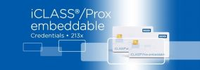 213x iCLASS Embeddable & iCLASS Prox Embedded Card ACCESSORIES ENTRYPASS DOOR ACCESS SYSTEM