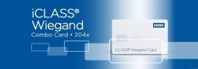 204x iCLASS + Wiegand Card ACCESSORIES ENTRYPASS DOOR ACCESS SYSTEM