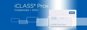 202x iCLASS + Prox Card ACCESSORIES ENTRYPASS DOOR ACCESS SYSTEM